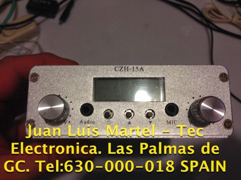 reparar emisora en Las Palmas de Gran Canaria