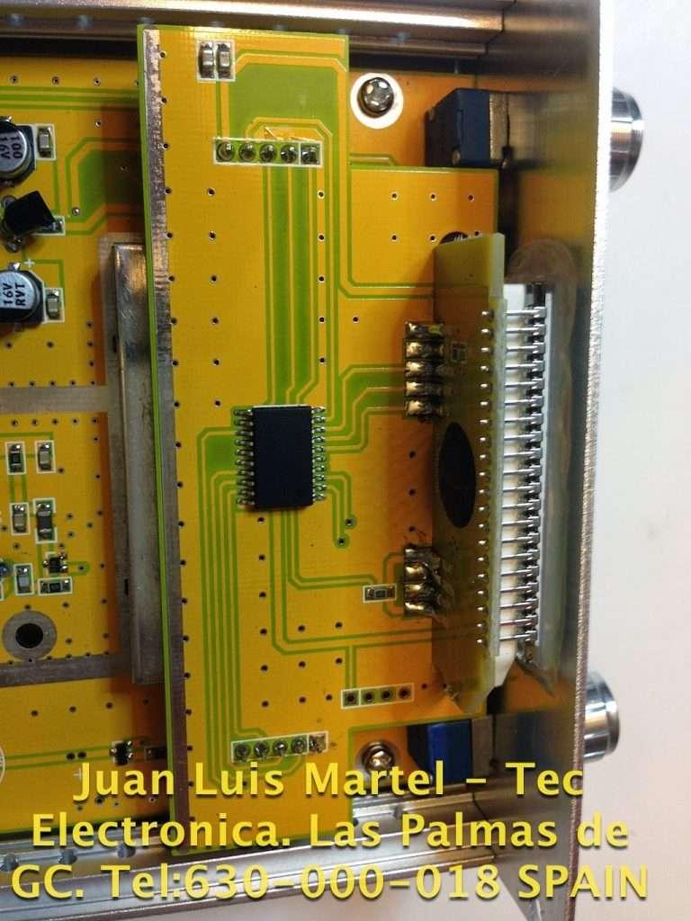 Circuito LCD de la emisora de FM