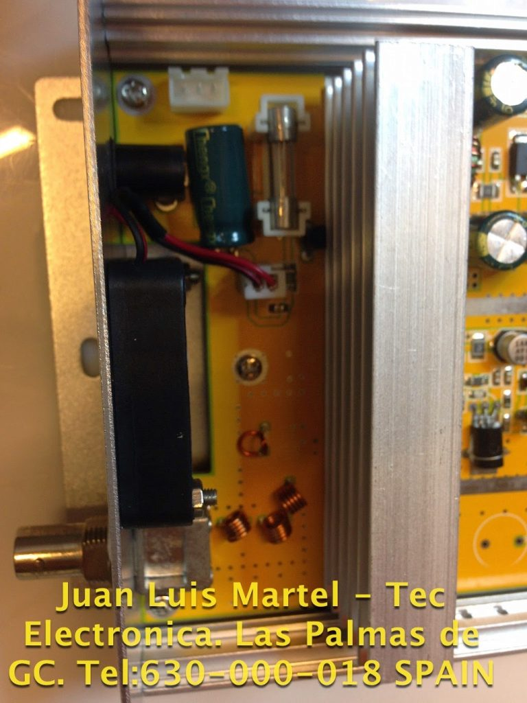 Circuito de la fuente de alimentación emisora de FM