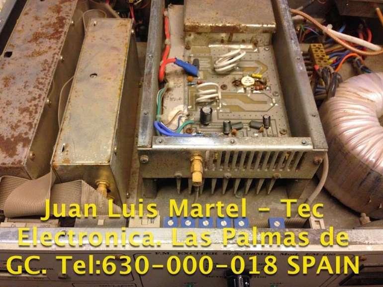 Reparación de emisora de FM en Las Palmas de Gran Canaria