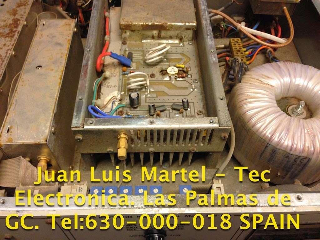 Reparación , circuito amplificador de potencia de RF emisora de FM.