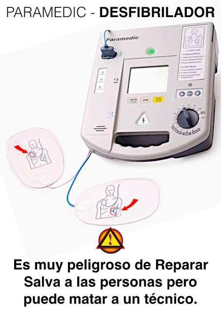 reparar aparatos de electromedicina en Las Palmas
