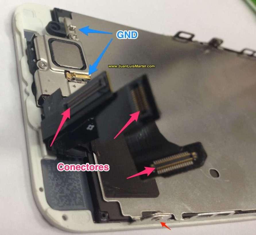 4feac9a89cd Servicio tecnico iPhone Las Palmas, reparación de iPhone 5s camara frontal