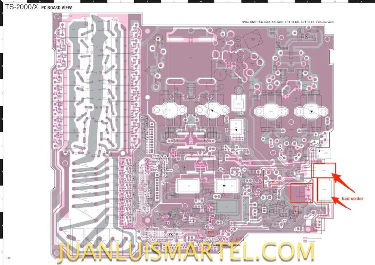 ts-2000x_service_manual_pcb-bad-solder