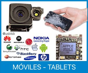 reparación de teléfonos móviles y tablets en Canarias taller