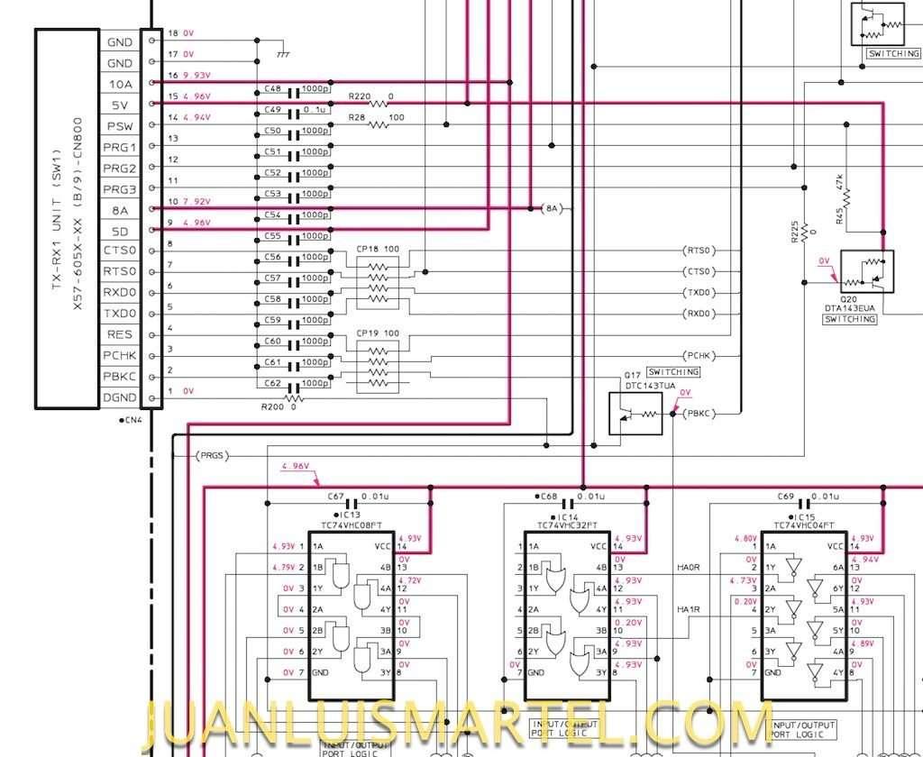 schematic-control-pcb-ts2000-q17