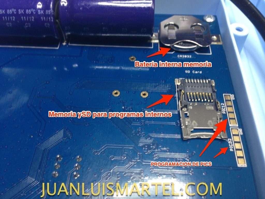 reparación de biomag lumia batería de backup memoria interna micro sd y programación de pies