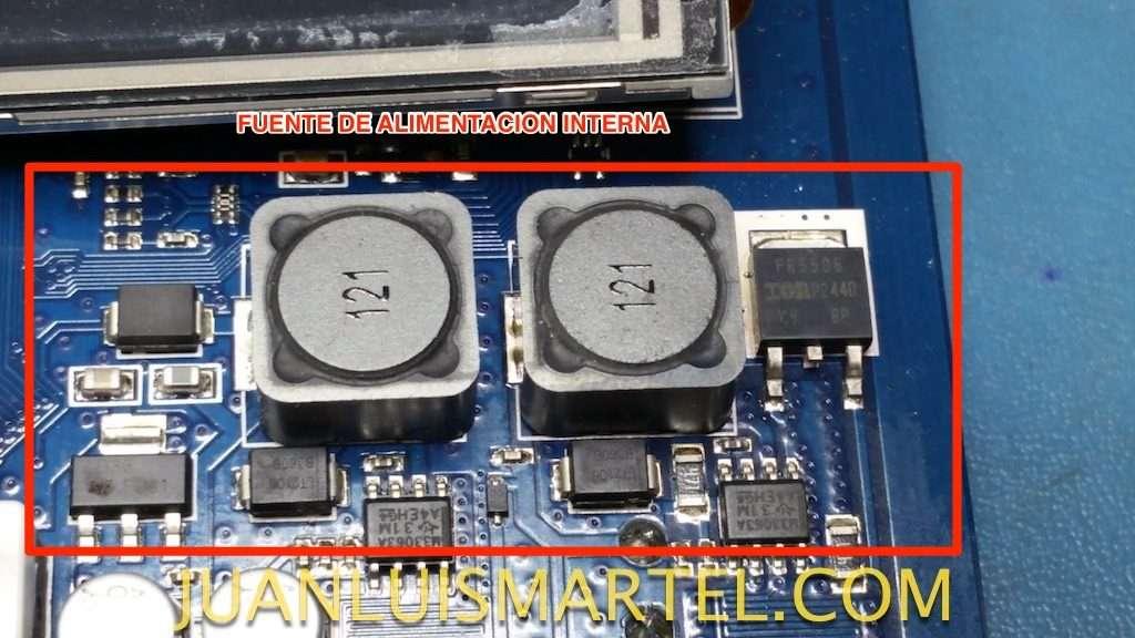 reparación de biomag lumina circuito de fuente de alimentación interna