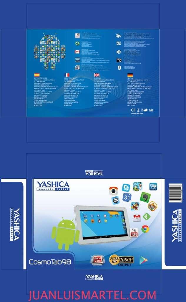 diseño de caja OEM tablet chino con android Juan Luis Martel