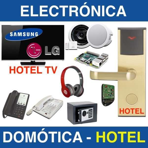 reparaciones electronicas - hoteles - domotica - energia
