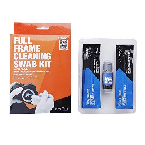 Kit de limpieza para camaras con sensor Full Frame (CCD/CMOS) marca: Sensor Swab DDR-24 Kit (Box of 12 X 24mm Swab + 15ml Sensor Cleaner)