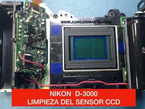 Limpiando CCD Camara Nikon D3000