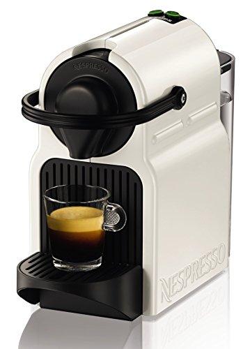 Nespresso Krups Inissia XN1001 - Cafetera de cápsulas, color blanco