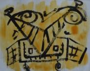 oleo-y-barnices-sobre-papel-40x60-cazadores-de-moscas