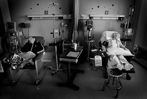 Katie Kirkpatrick tiene cáncer de pulmón. (4/6)