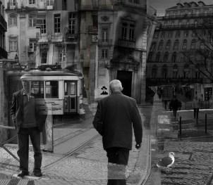 Fotocollage El sueño de B. Soares