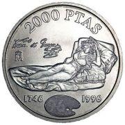 Moneda de 2000