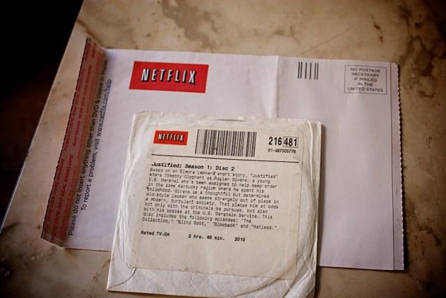 Last Netflix Disk