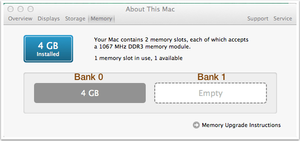 MacBook Pro: Memory Slot 0 and Slot 1 – Juan Monroy