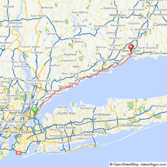 NYC to New Haven