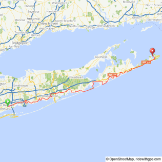 South Fork Ride to Montauk