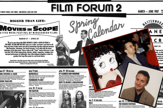 Origins of Film Forum Calendar