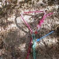 En montaña: Rápel en simple