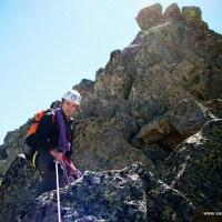 La cuerda en montaña
