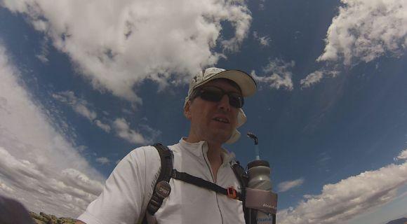 Camino a Peñalara, antes de desfallecer la GoPro