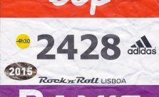 Dorsal Maratón Lisboa