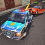 Download  Police Tow Truck Driving Car Transporter 1.4 Apk