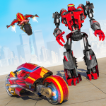 Download  Robot Bike Shooting Drive Simulator 1.1.5 Apk