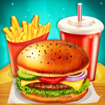Unduh Happy Kids Meal Maker – Burger Cooking Game 1.2.4 Apk