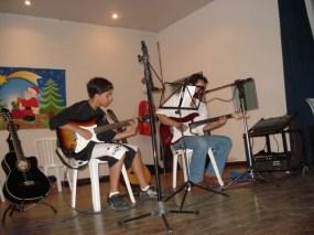 Juarez Barcellos e Jorge Gabriel no Cassino da Light