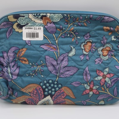 Quilted Floral Clutch