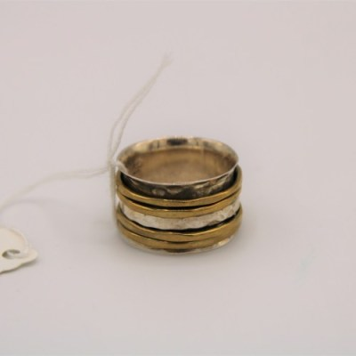 Brass Spinning Ring | Size 7