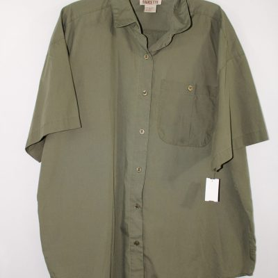 Faucetti Olive Shirt | Size 22/24