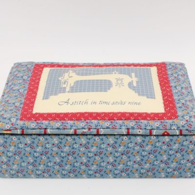 Quilted Sewing Box