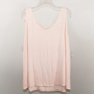 NEW A New Day Pink Knit Tank Top | 2X