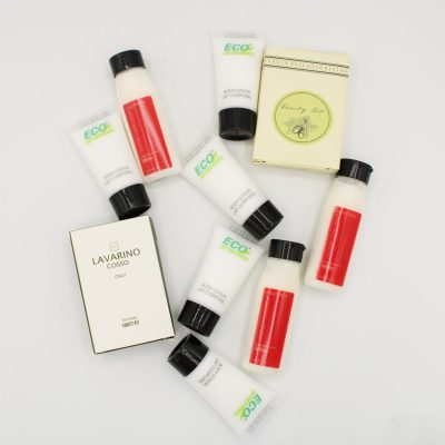 Travel Size Assortment of Soaps & Lotions