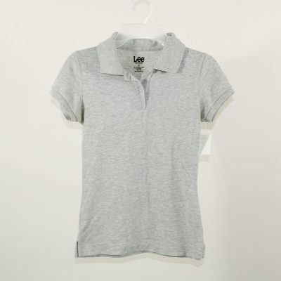 Lee Gray Polo Shirt | Size S