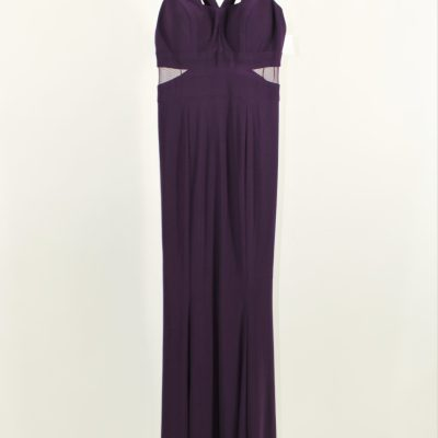 Xcape Purple Prom Formal Gown | S
