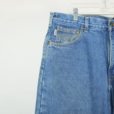 Carhartt Flannel Lined Work Jeans   Size 38x30