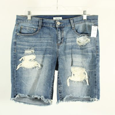 Mudd Distressed Mid Length Shorts | Size 13