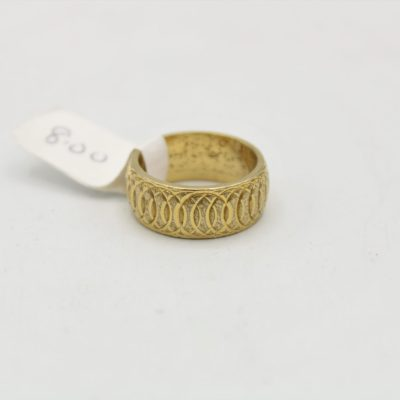 Etched Ring | Size 6