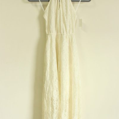 Abercrombie & Fitch Cream Lace Dress | Size S