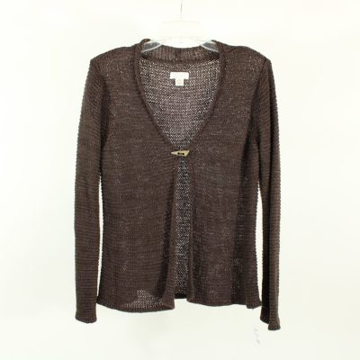 Christopher & Banks Brown Knitted Cardigan | Size XL