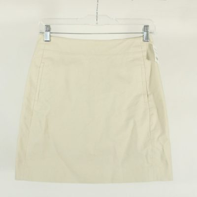 LOFT Stretch Tan SKirt | Size 00 Petite