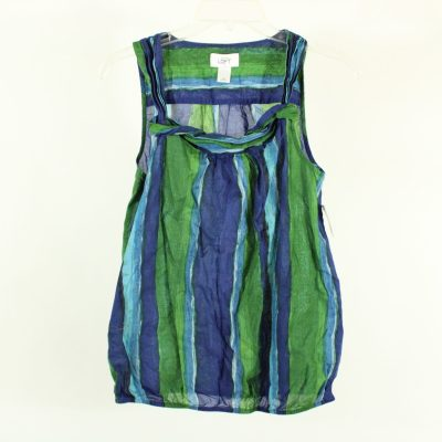 Ann Taylor LOFT Blue & Green Top | Size XS