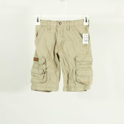 Lee Loose Fit Khaki Cargo Shorts | Size 7